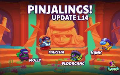 Pixelings Pinjalings Update 1.14