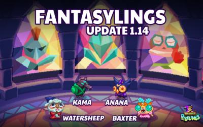 Pixelings Fantasylings Update 1.15