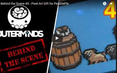 Behind the Scene #4 – Pixel Art Gift for PewDiePie