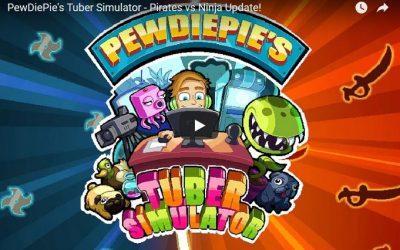 PewDiePie's Tuber Simulator – Pirates vs Ninja Update!