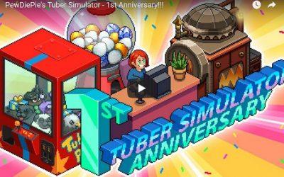 Joyeux anniversaire Tuber Simulator !