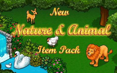 Nouveau pack nature et animaux !