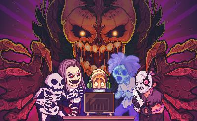 C'est Halloween dans Tuber Simulator !