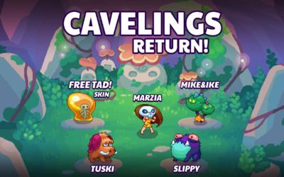 Pixelings Cavelings Update 1.16