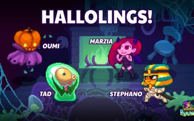 Pixelings Hallolings Update 1.18